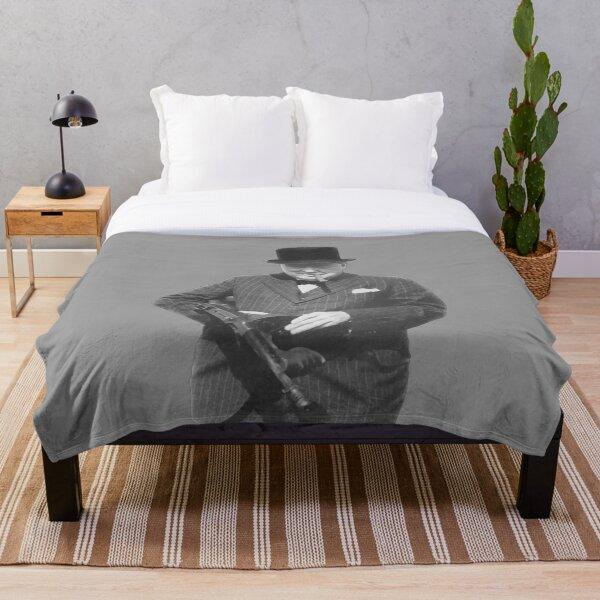 Sir Winston Churchill  Throw Blanket