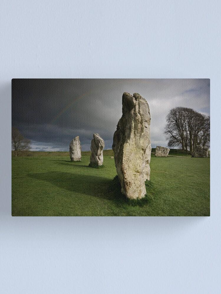 Alternate view of Avebury: Silent Sentinels Canvas Print