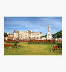 Buckingham Palace And Garden Photographic Print