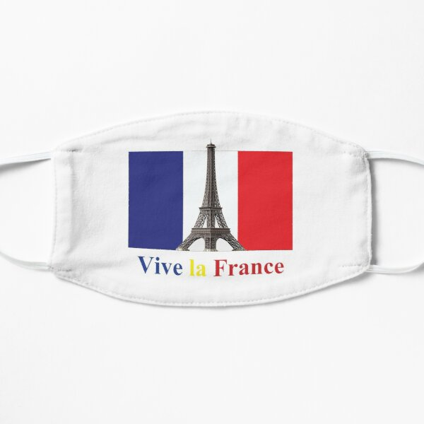 Vive la France Flag and Eiffel Tower, RBSSG Mask