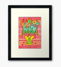 Magic Angel Framed Print