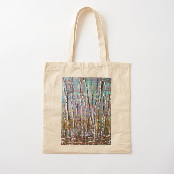 Reflections Revisited Cotton Tote Bag