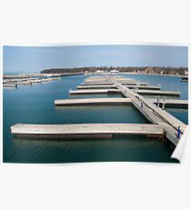 The Marina at Port Elgin Poster