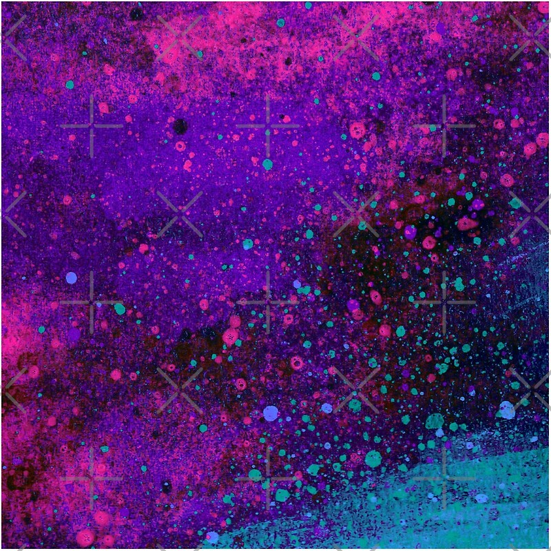 Pink purple and blue paint splatters tote bags by bexilla pink purple and blue paint splatters junglespirit Image collections