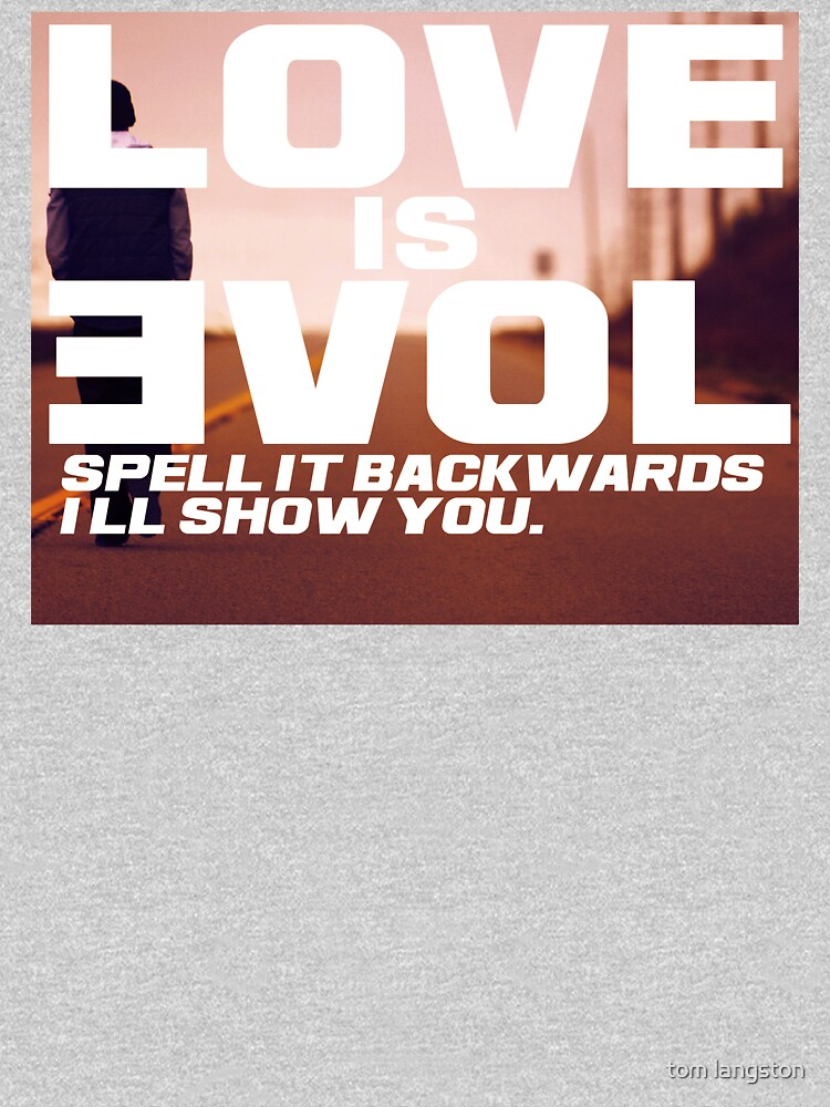 TShirtGifter presents: Love is Evol. | Long Sleeve
