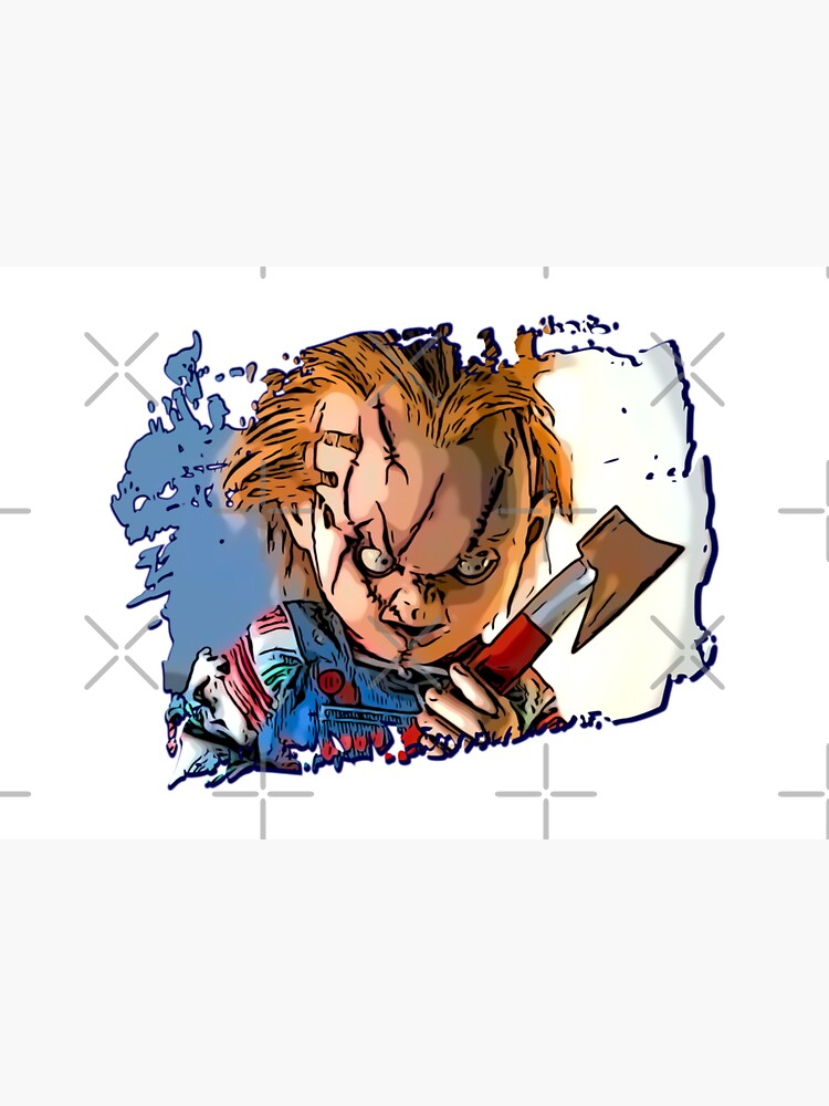 Chucky Child's Play doll by alessiofano