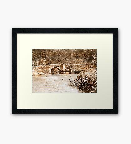 Lerryn Bridge Framed Print