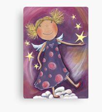 Blond Angel Canvas Print