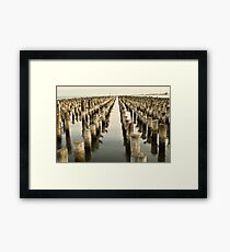 Princess Pier Framed Print