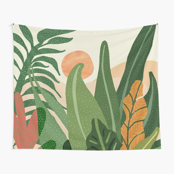 Jungle Morning Tapestry