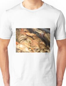 Variety of Fresh Fish Seafood on Ice T-Shirt