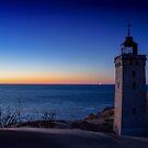 Blue Hour Lighthouse by Ulla Jensen