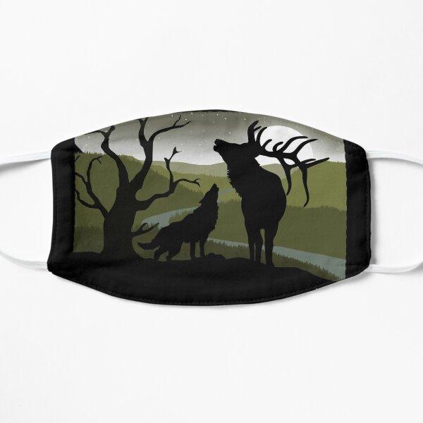 Wolf and Elk Duet - WolfQuest Dream Mask