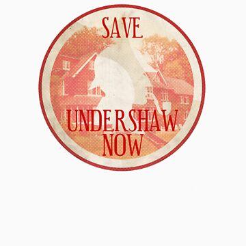 Save Undershaw Now (Sticker 2) by KitsuneDesigns