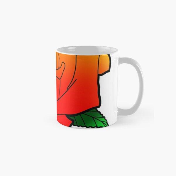 Gradient Rose Classic Mug