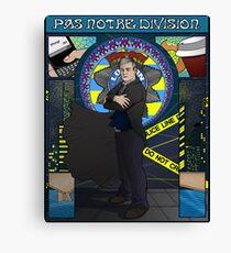 Sherlock Nouveau: Gregory Lestrade Canvas Print