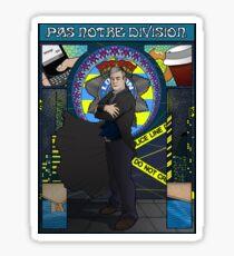 Sherlock Nouveau: Gregory Lestrade Sticker