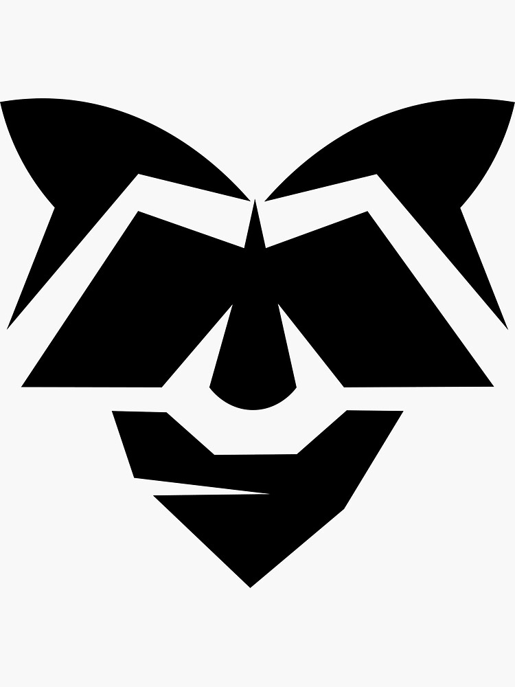 The 13andit - Racoon Wearing Bandana Logo by 13andit