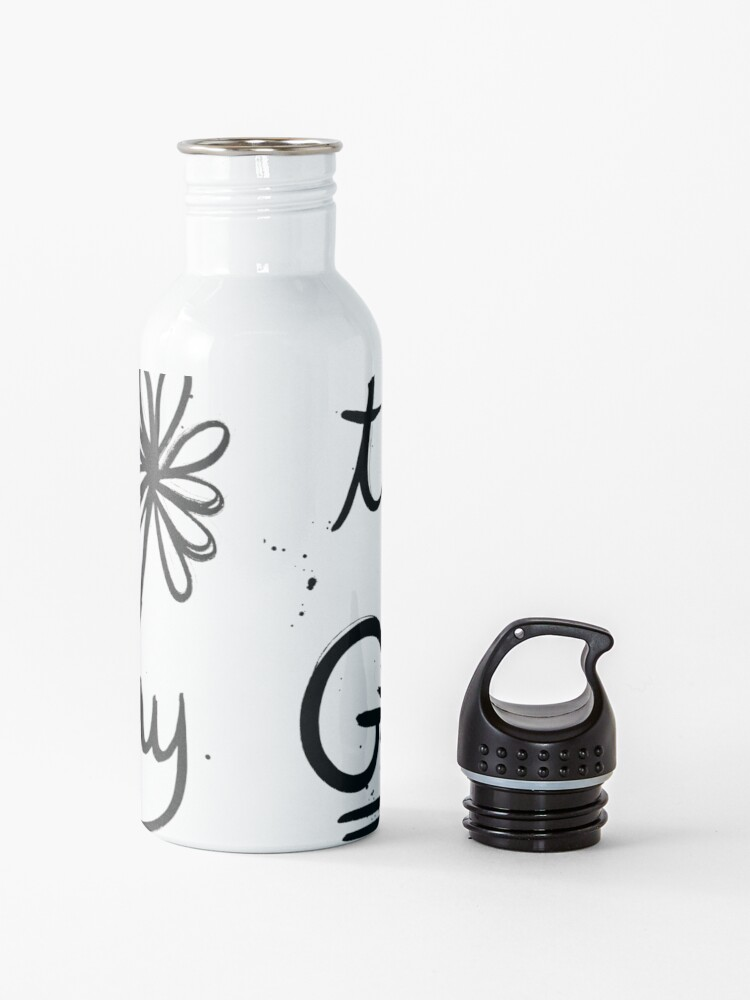 Alternate view of Today Is A Good Day Water Bottle