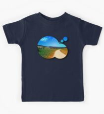 Another lonely hiking trail Kids Clothes