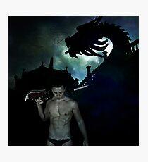 Dragon Warrior Photographic Print