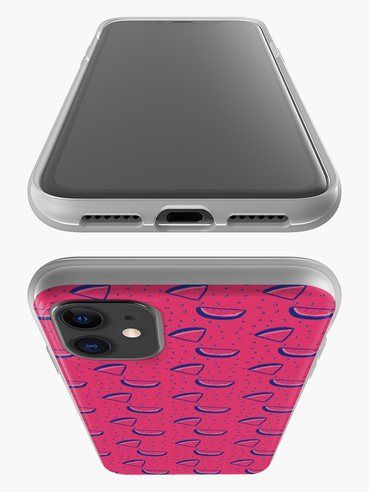 Alternate view of Watermelon Print iPhone Case & Cover