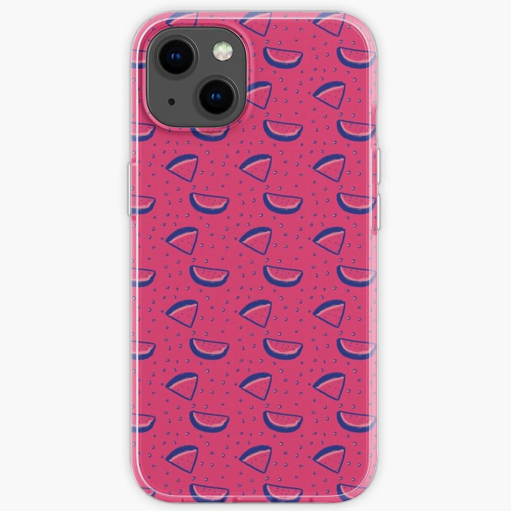 Watermelon Print iPhone Case