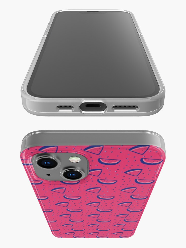 Alternate view of Watermelon Print iPhone Case