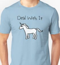 Deal With It (Unicorn) T-Shirt