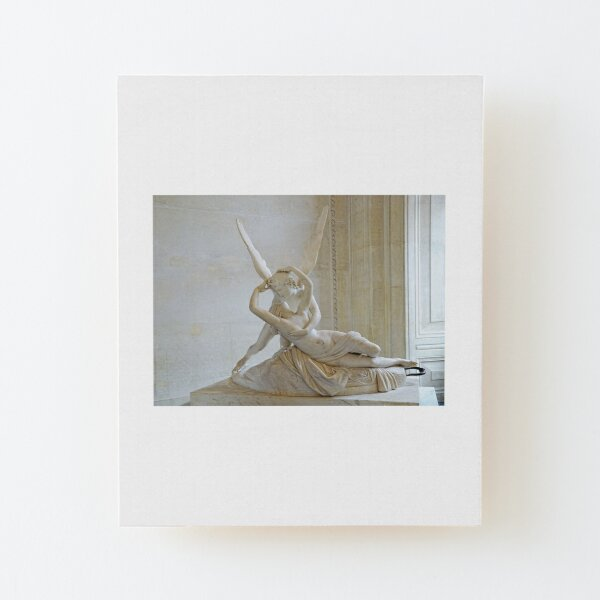 Psyche Revived by Cupid's Kiss Wood Mounted Print