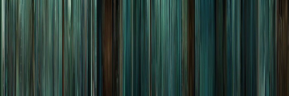 Moviebarcode: Twilight (2008) by moviebarcode