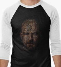 Walter White, Typographic Man of Chemistry Men's Baseball ¾ T-Shirt