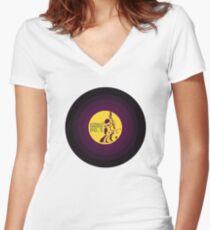 Octavia's Concerto No. 5 Women's Fitted V-Neck T-Shirt