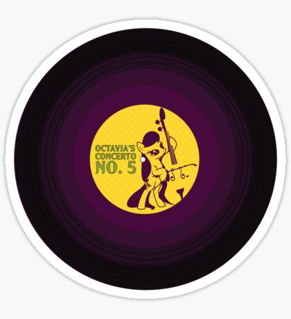 Octavia's Concerto No. 5 Sticker