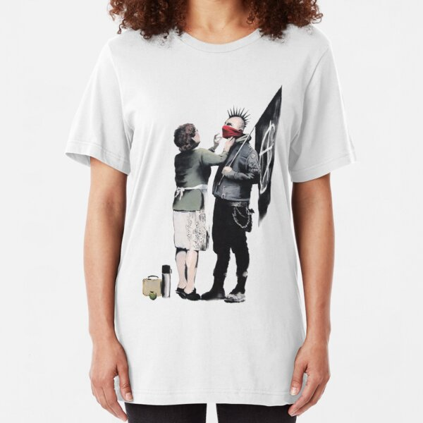Anarchy... Slim Fit T-Shirt