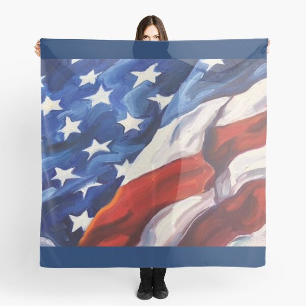 American Flag - Country First Scarf