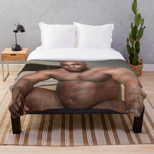 Well Endowed Man Throw Blanket