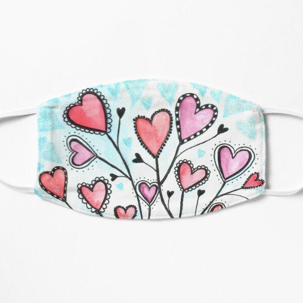 Heart Love Bouquet Mask