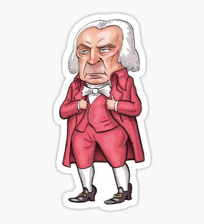 President James Madison Sticker