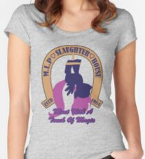 My Little Pony Slaughter House Women's Fitted Scoop T-Shirt