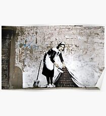 Banksy - Sweep it under the carpet N°1 Poster