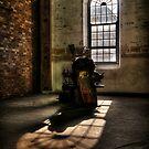 Sunlit Lathe by Jason Ruth
