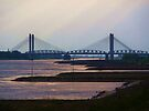 The bridge on the river Waal by shireengol