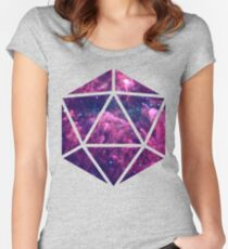 D20 Clouded Vision Women's Fitted Scoop T-Shirt
