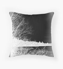 Inside Out Landscape Throw Pillow