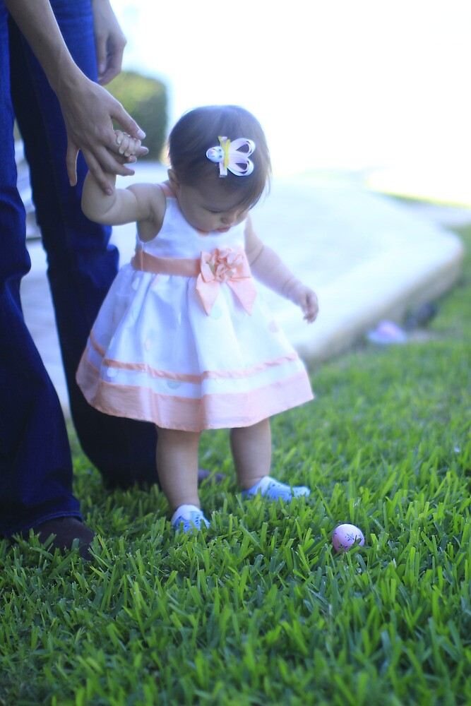 First Easter Egg Hunt by mhm710