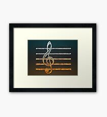 A Song of... Framed Print