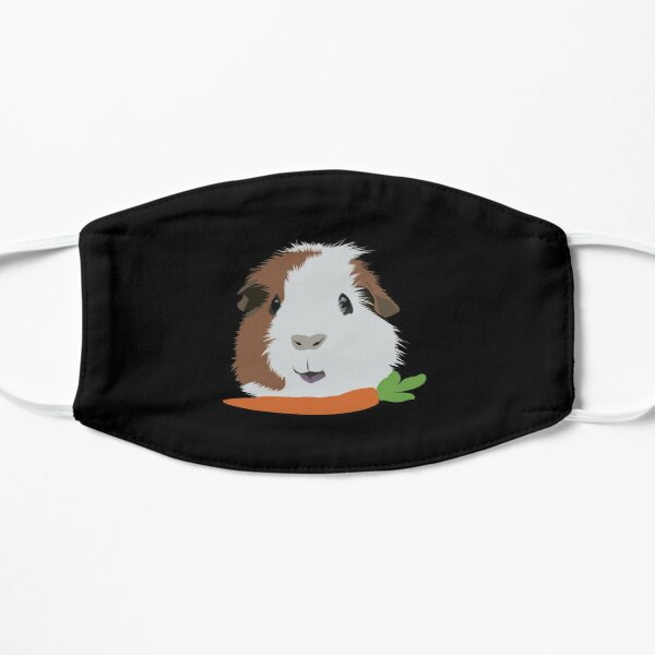 Guinea Pig with a Carrot Mask