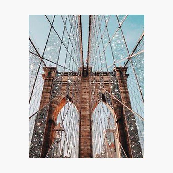Vintage Sparkle Bridge  Photographic Print