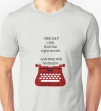 One day Slim Fit T-Shirt